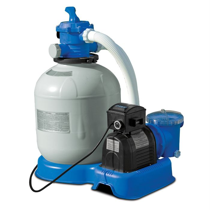 Filtration de la piscine for Pompe sable piscine