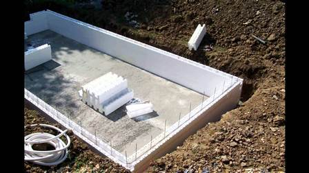 Types de piscine for Bloc polystyrene piscine