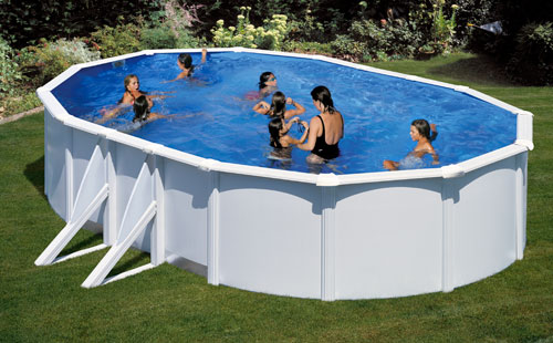 Types de piscine for Piscine hors sol boudin